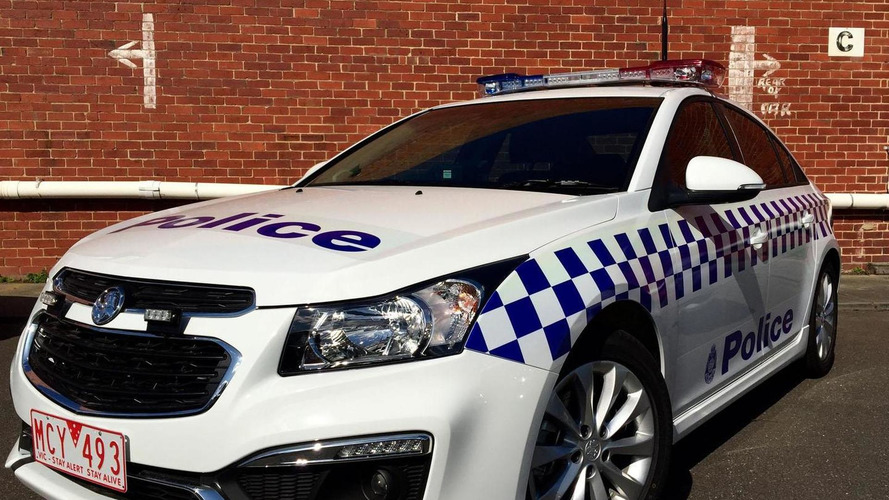 Holden Cruze police car unveiled for the Victoria Police