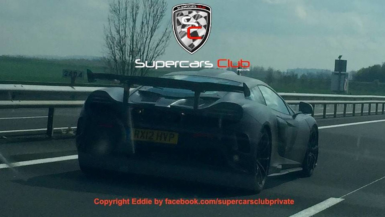 Possible McLaren 688HS spy photo