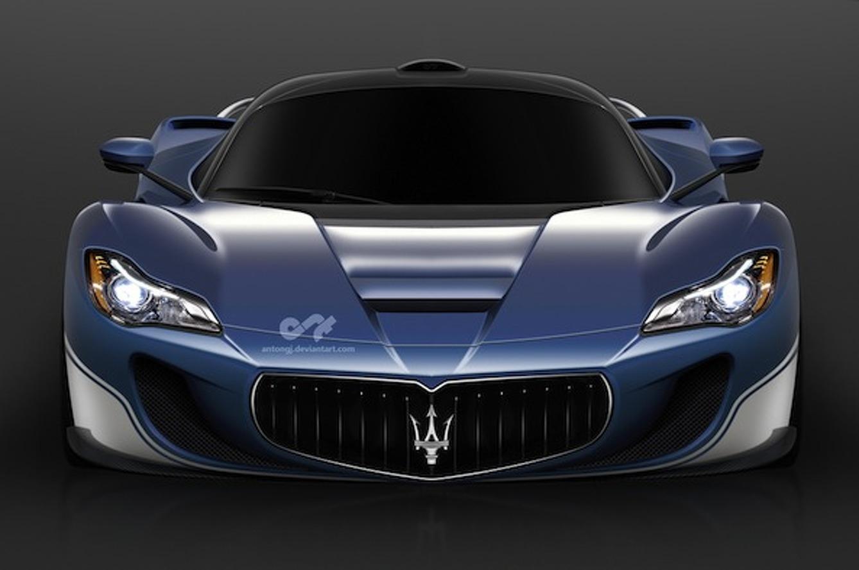Designer Envisions LaFerrari-Based Maserati Concept