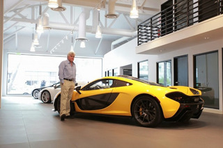 Jay Leno Takes Delivery of Very First McLaren P1 in the U.S. [w/video]