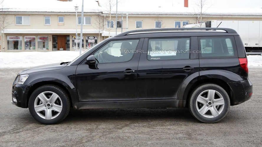 Possible Skoda Snowman chassis testing mule spied for the first time