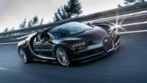 Bugatti Chiron roadster speculative render