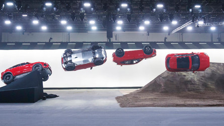 Jaguar E-Pace Debuts With Furthest Barrel Roll Jump World Record