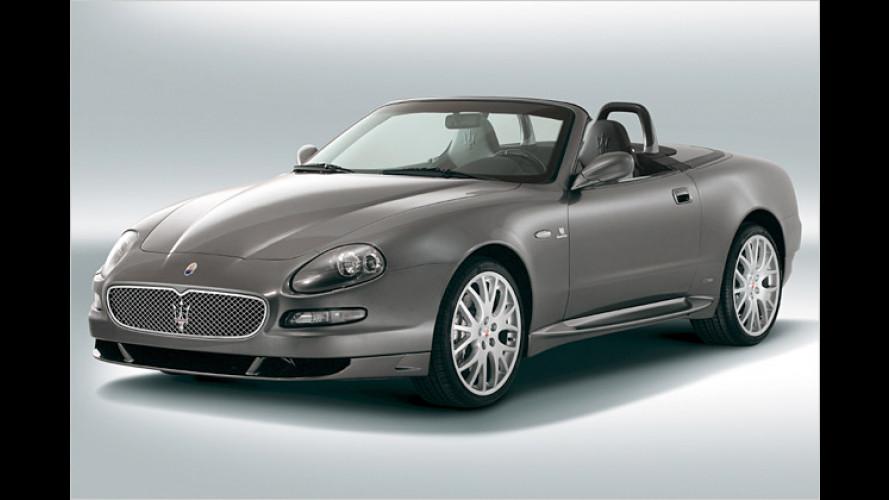 Maserati GranSport : Sportlichere Variante des Cabrios