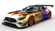 La Mercedes-AMG GT3 se lance en championnat IMSA en 2017