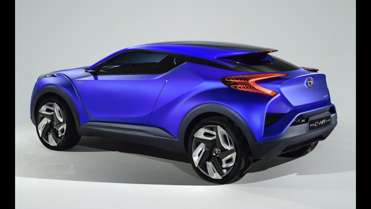 Toyota rival do HR-V será apresentado em Genebra