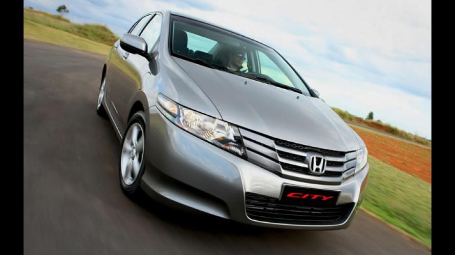 Honda City 2012 chega sem mudanças - Veja conteúdo das versões e tabela de preços