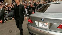Brad Pitt Arriving To The Ocean's 13 Premiere In a BMW Hydrogen 7