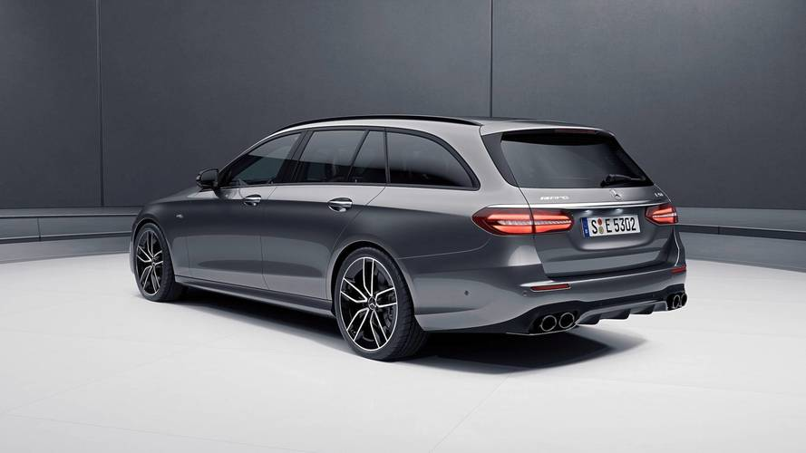 Mercedes-AMG E53 debuts in sedan and wagon flavors