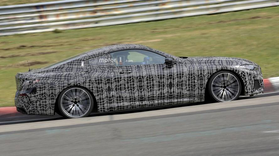BMW 8 Series Coupe, Convertible Caught Testing At The Nürburgring