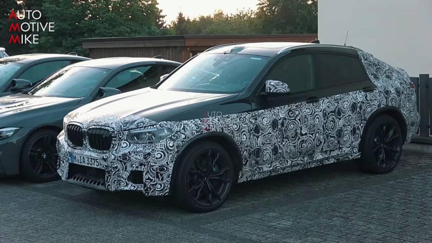 BMW X4 M, Nürburgring'de hızlı turlar atarken görüntülendi