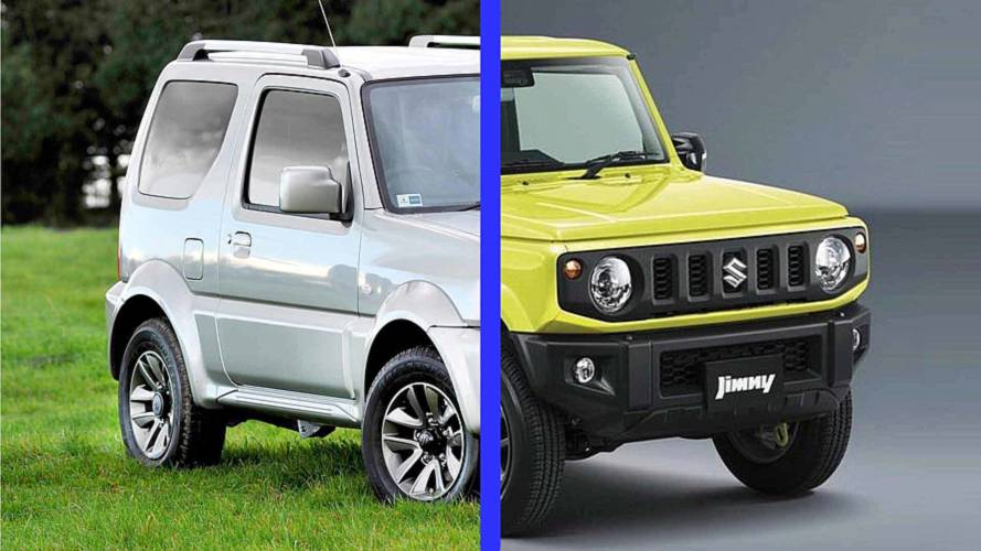Suzuki Jimny: See The Changes Side-By-Side
