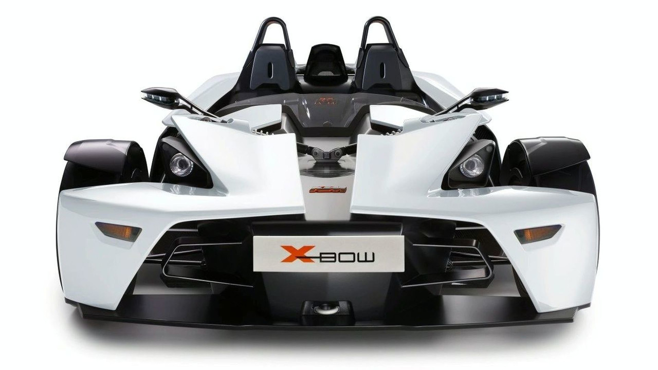 KTM X-Bow in Gleaming White