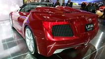Lexus LF-A Convertible at Detroit