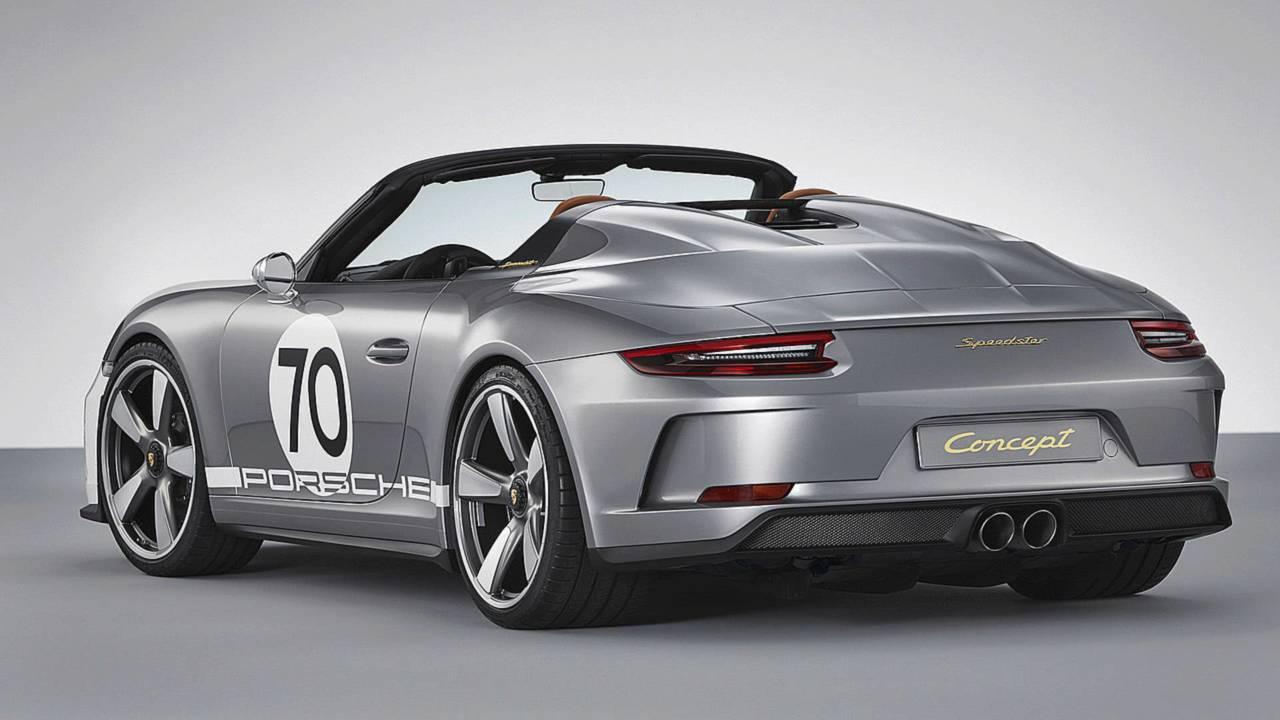 Porsche 911 Speedster Concept - 70 aniversario