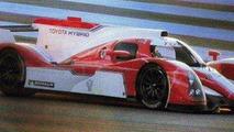 Toyota GT-One LPM1 race car, 600, 19.01.2012
