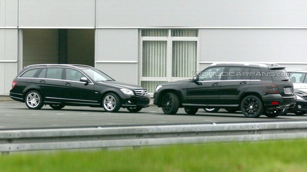 Mercedes GLK production version