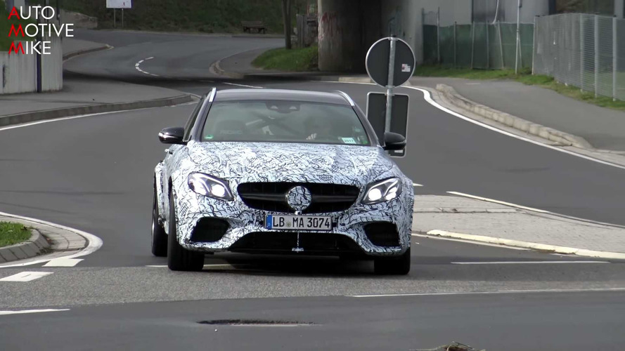Possible Mercedes-AMG E63 R Wagon spy photo