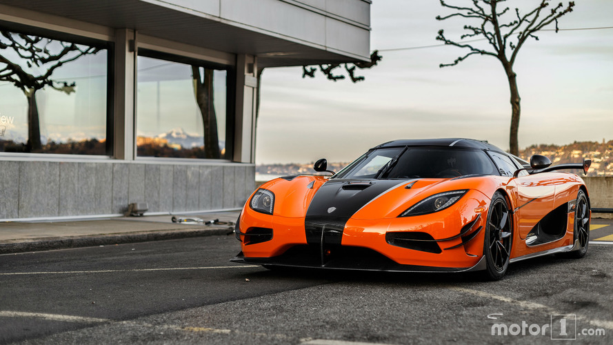 PHOTOS - L'unique Koenigsegg Agera XS surprise à Genève