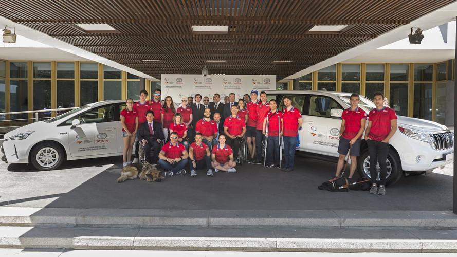 Toyota España, patrocinador del comité paraolímpico  español