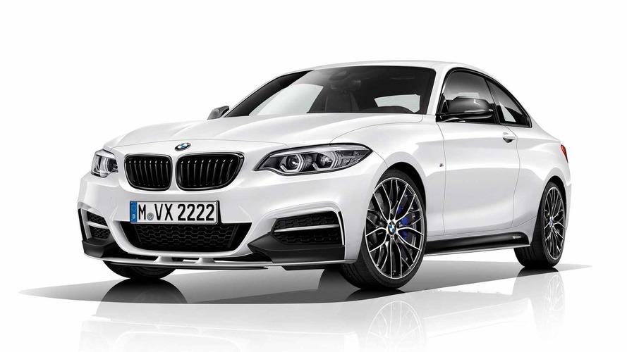 BMW M240i M Performance 340 bg güç ve kozmetik dokunuşlarla geldi