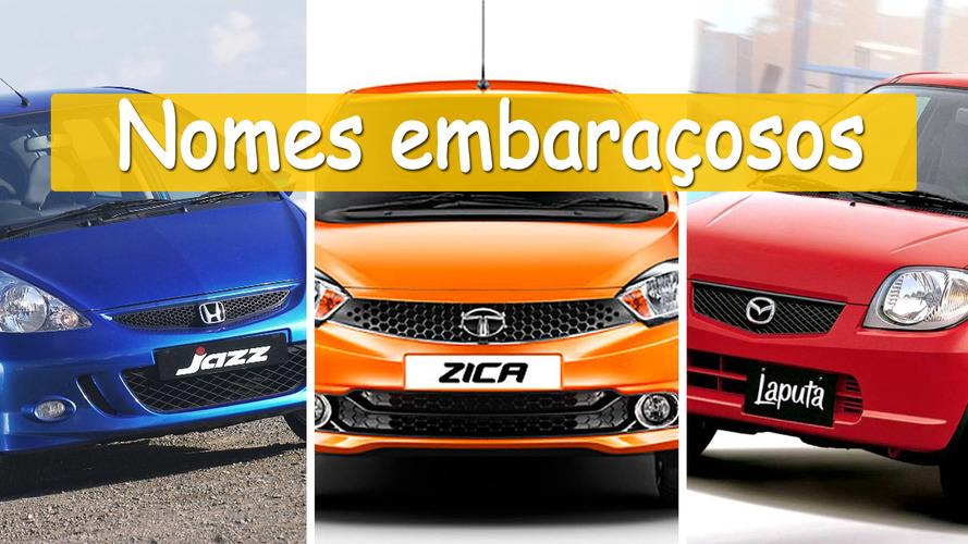 Relembre os nomes de carros mais embaraçosos já vistos
