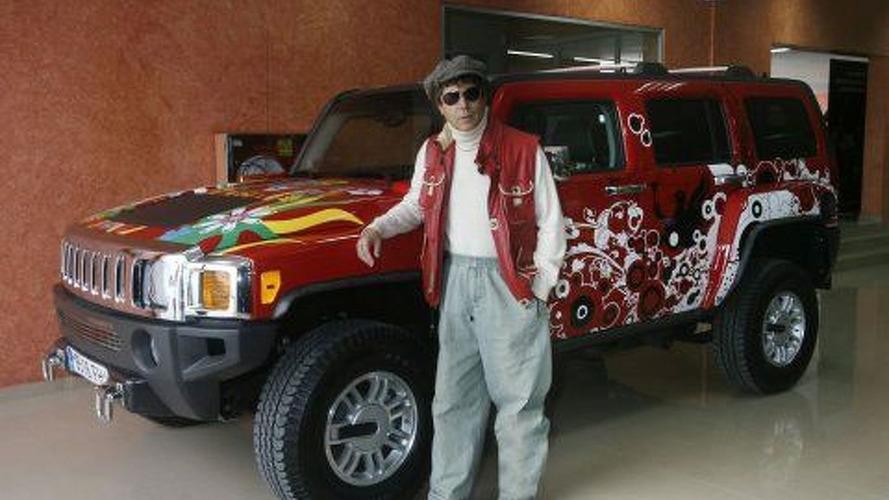 Jesus (Quintero) Drives a Hummer