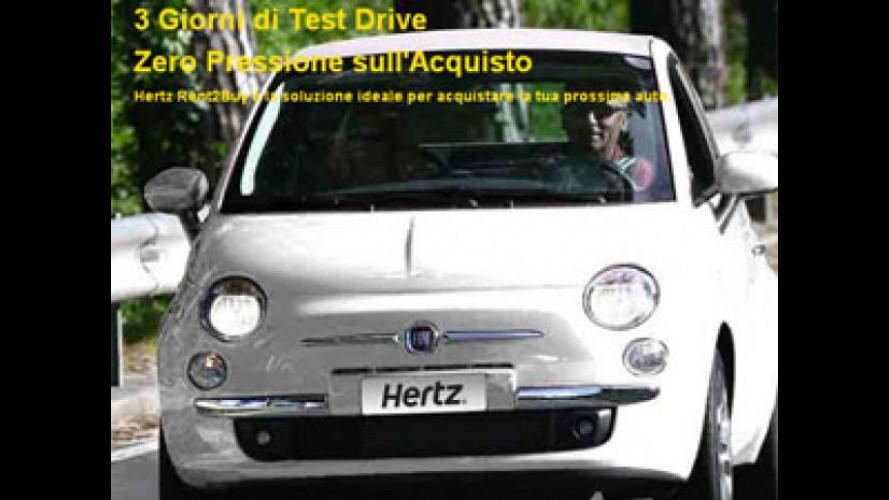 Hertz lancia un programma di acquisto dell'auto dopo un test drive di 3 giorni