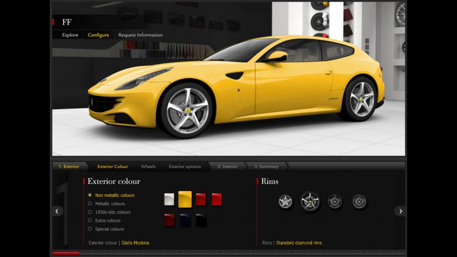 Ferrari FF: un preventivo da 330.000 € per sognare