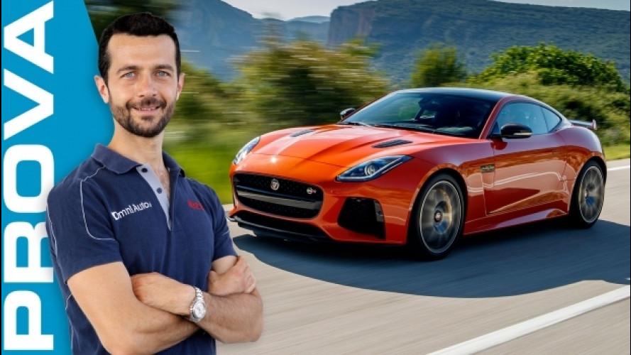 Jaguar F-Type SVR, è già nella storia [VIDEO]
