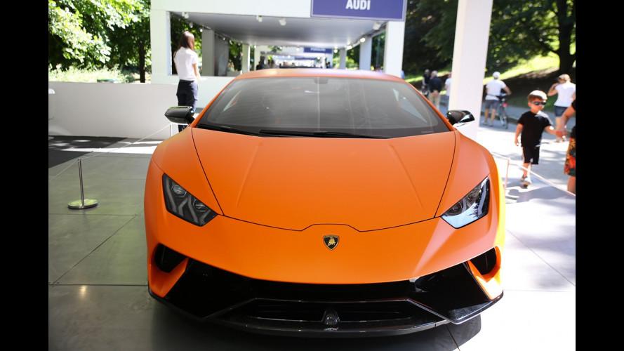 Lamborghini a Parco Valentino 2017