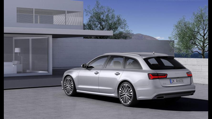 Audi A6, nuove dotazioni per rispondere a Serie 5 e Classe E