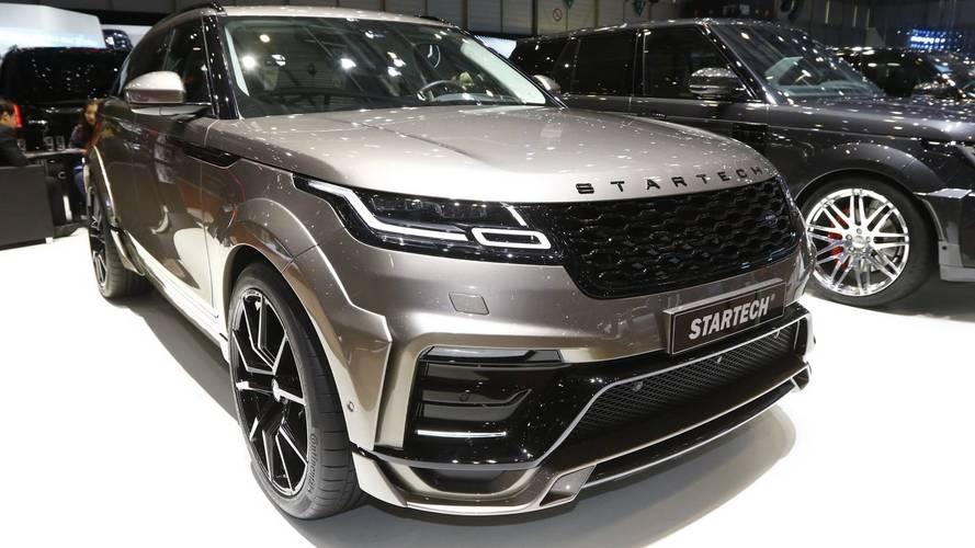Range Rover Velar By Startech Live From Geneva Motor Show