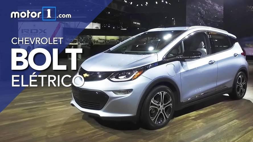Vídeo - Bolt, o carro elétrico da Chevrolet que será vendido no Brasil