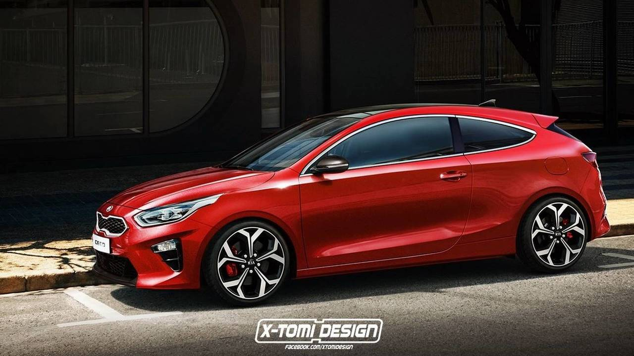 2018 Kia Proceed Coupe render