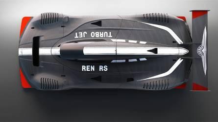 1305 lóerős fenevad egy üléssel: Techrules Ren RS