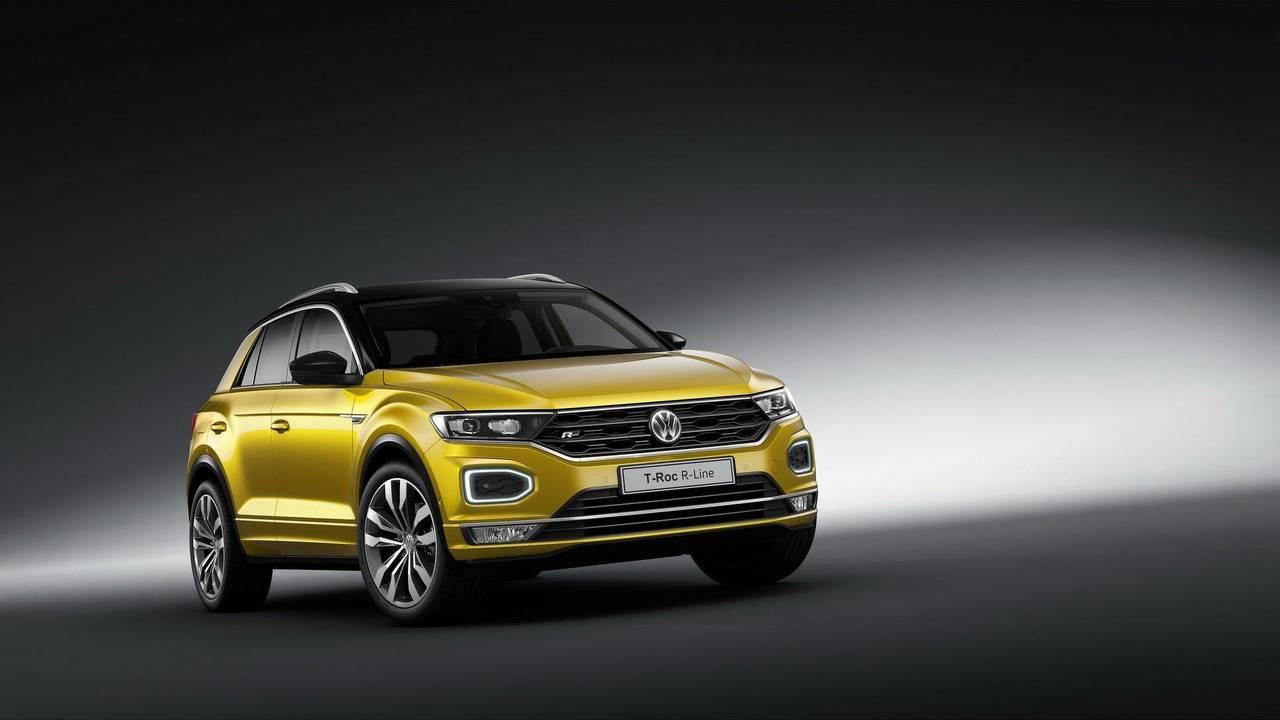 Volkswagen T-Roc & Tiguan Allspace R-Line