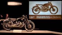 Vincent Black Lightning de 1951 subastada por Bonhams
