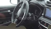 Hyundai Santa Fe Interior Spy Photos