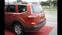 Novas fotos do Kia Borrego 2009 revelam detalhes internos do SUV