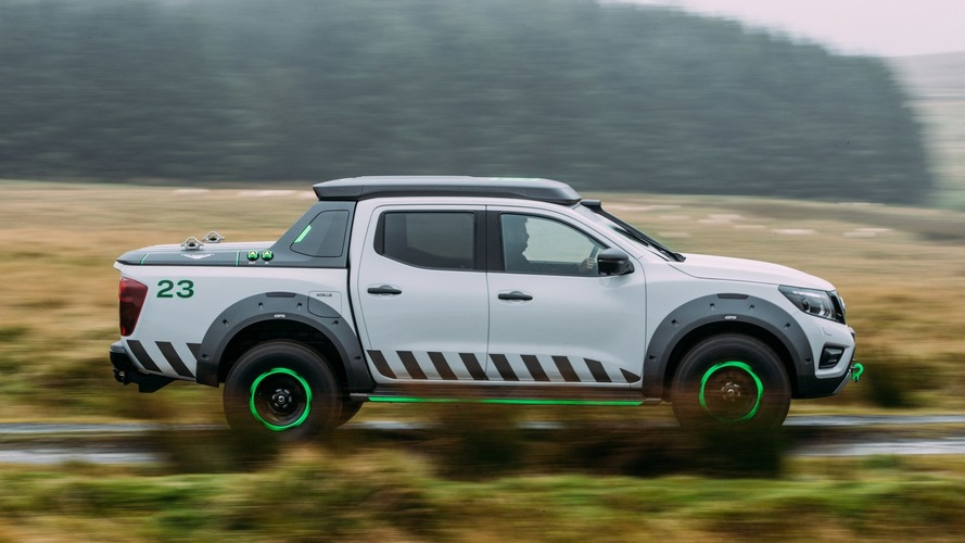 Nissan Files 'Navara Off-Roader' Name, Could Be Ranger Raptor Rival