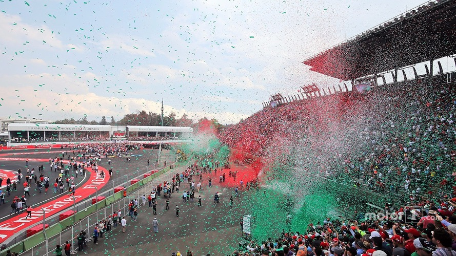 Mexican GP plans even bigger podium spectacular