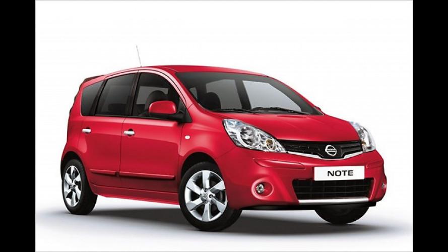 Nissan Note: Sichere Tonart