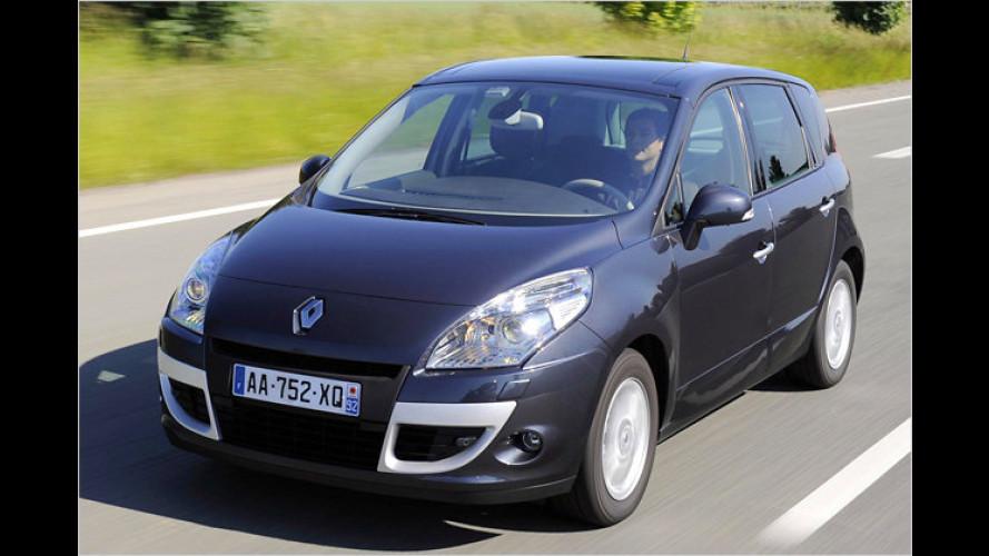 Jetzt wird gespart: Renault Scénic mit neuem Diesel im Test