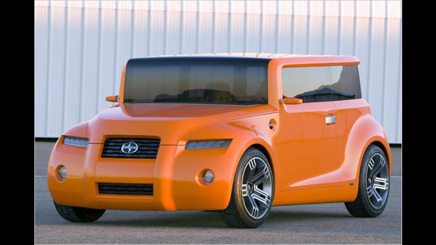 Scion Hako Coupé Concept: Die tolle Orangen-Kiste