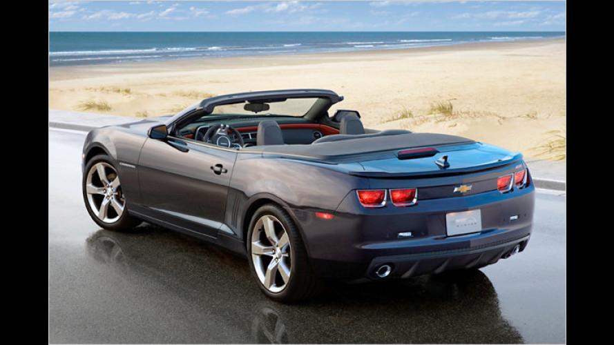 Chevrolet Camaro Cabrio: Premiere und erstes Tuning