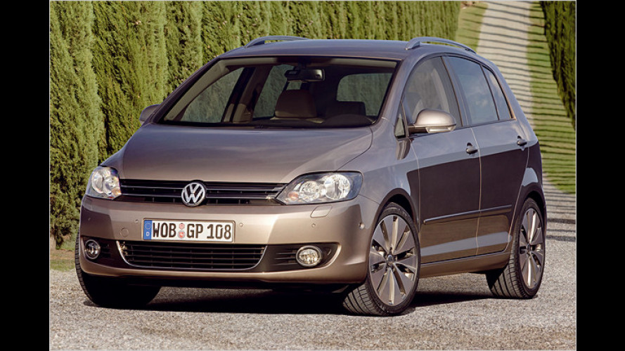 Ab sofort bestellbar: Der nagelneue VW Golf Plus