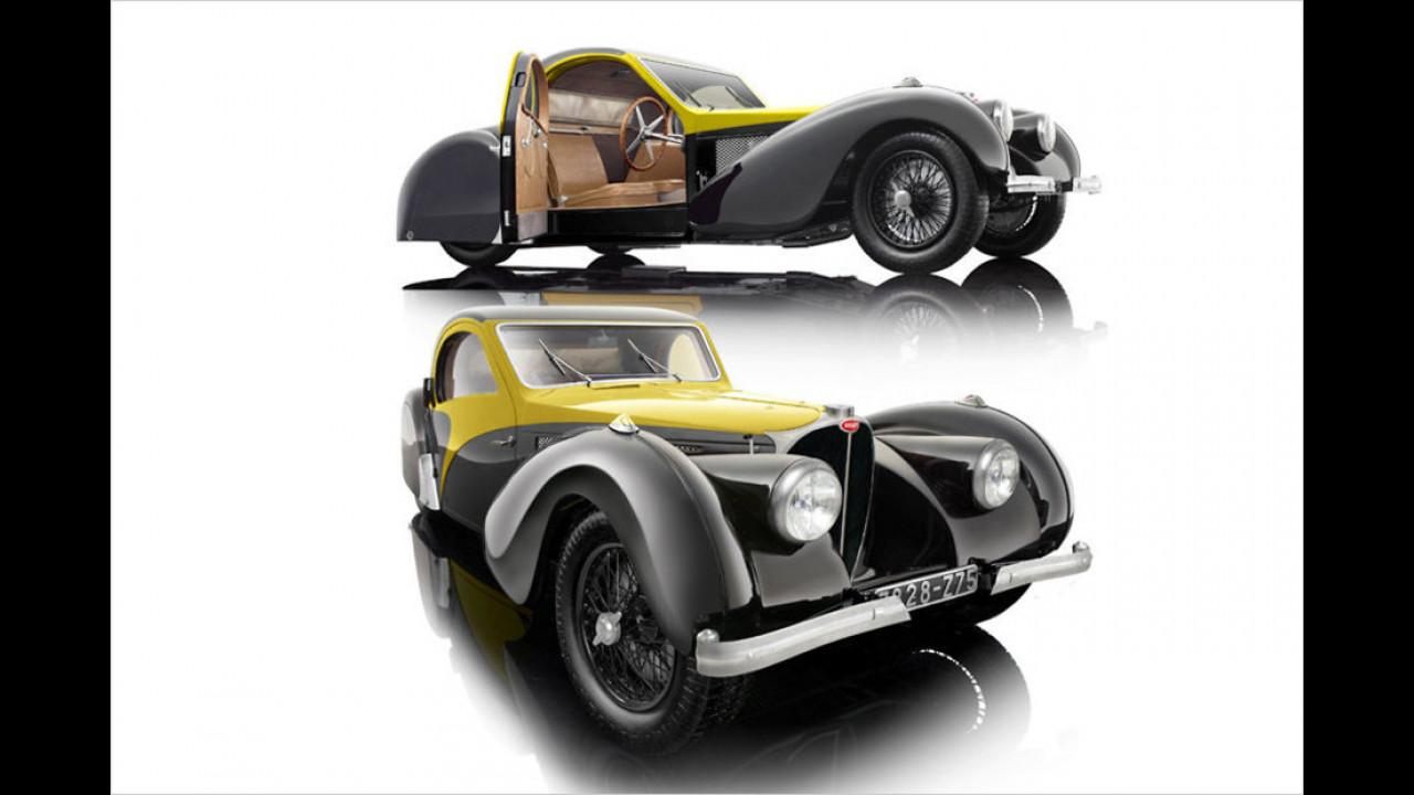 Sieger Diverse Maßstäbe: Bugatti Atalante 57S