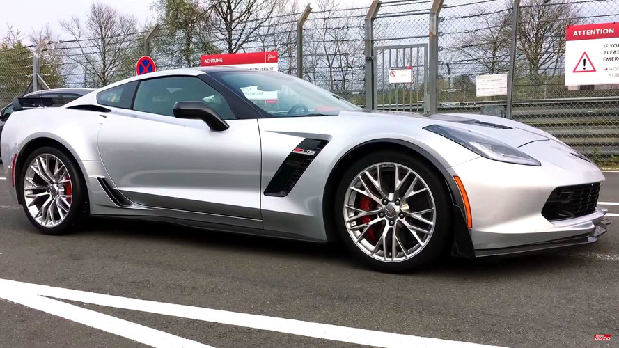 Watch Corvette Z06 Round The Nürburging In 7:13.9