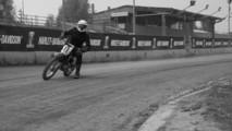Harley-Davidson dirt sideways school